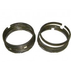 Кольца  3 ремонт чугунные 79,0 (в комплекте:4 компрессионных+4 маслосъёмных кольца) мотоцикла Урал