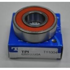 Подшипник главной передачи 6203(U) 40х17х12 TPI TW