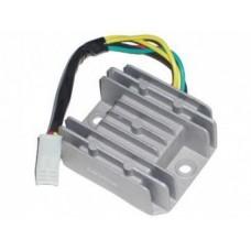 """Реле регулятор напряжения для двигателя 152QMI/157QMJ 125/150cс (1 штекер """"мама"""" 5 конт.)"""