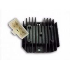 """Реле регулятор напряжения для двигателя 152QMI/157QMJ 125/150cс (1 штекер """"папа"""" 5 конт.)"""