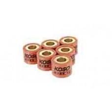 Ролики вариатора KOSO 5 гр для двигателя 139QMB/Honda 16x13 (6 штук)