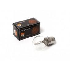 Лампа фары HQ c улучш. фокусом B35 BA20D (груша) 12V 35/35W прозрачная