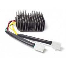 Регулятор напряжения 4T 125-150сс 2 фишки 6 конт.