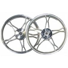 Диск колеса 17 x 1.20 передний бар.торм. (колодки d-110мм) мопед CN