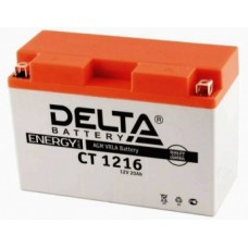 АКБ DELTA CT YB16AL-A2 (205 х 70 х 162)