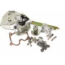 Головка цилиндра CMR 4-х клапан. d=63 для 4T двиг. 152QMI, 157QMJ с уст. комплектом зч TW